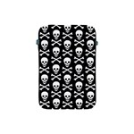 Skull and Crossbones Pattern Apple iPad Mini Protective Sleeve Front