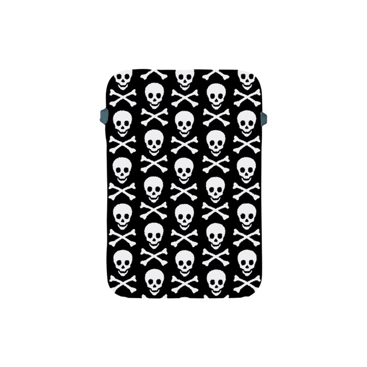 Skull and Crossbones Pattern Apple iPad Mini Protective Sleeve