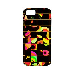 Pieces In Squares Apple Iphone 5 Classic Hardshell Case (pc+silicone) by LalyLauraFLM