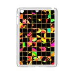 Pieces in squares Apple iPad Mini 2 Case (White) Front