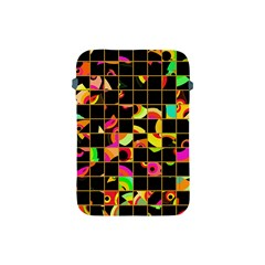 Pieces In Squares Apple Ipad Mini Protective Soft Case by LalyLauraFLM