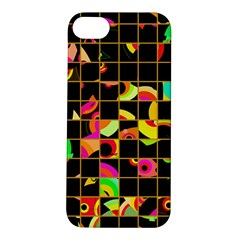 Pieces In Squares Apple Iphone 5s Hardshell Case by LalyLauraFLM