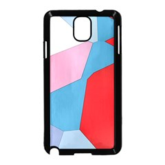 Colorful Pastel Shapes Samsung Galaxy Note 3 Neo Hardshell Case by LalyLauraFLM