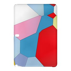 Colorful Pastel Shapes	samsung Galaxy Tab Pro 12 2 Hardshell Case by LalyLauraFLM