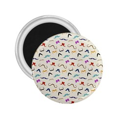 Mustaches 2 25  Button Magnet by boho