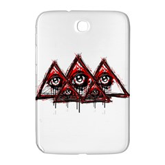 Red White Pyramids Samsung Galaxy Note 8 0 N5100 Hardshell Case  by teeship
