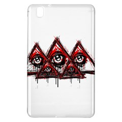 Red White Pyramids Samsung Galaxy Tab Pro 8 4 Hardshell Case by teeship