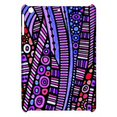 Stained Glass Tribal Pattern Apple Ipad Mini Hardshell Case by KirstenStar