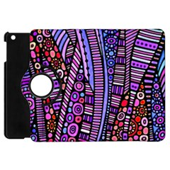 Stained Glass Tribal Pattern Apple Ipad Mini Flip 360 Case by KirstenStar