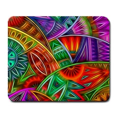 Happy Tribe Large Mouse Pad (rectangle) by KirstenStar