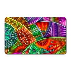Happy Tribe Magnet (rectangular) by KirstenStar