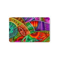 Happy Tribe Magnet (name Card) by KirstenStar