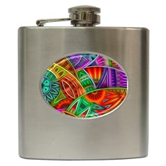 Happy Tribe Hip Flask by KirstenStar