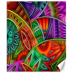 Happy Tribe Canvas 8  X 10  (unframed) by KirstenStar