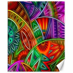 Happy Tribe Canvas 16  X 20  (unframed) by KirstenStar