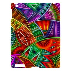 Happy Tribe Apple Ipad 3/4 Hardshell Case by KirstenStar