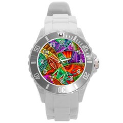 Happy Tribe Plastic Sport Watch (large) by KirstenStar