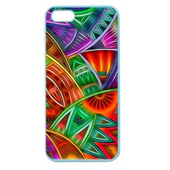 Happy Tribe Apple Seamless Iphone 5 Case (color) by KirstenStar