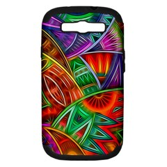 Happy Tribe Samsung Galaxy S Iii Hardshell Case (pc+silicone) by KirstenStar