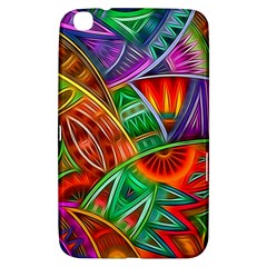 Happy Tribe Samsung Galaxy Tab 3 (8 ) T3100 Hardshell Case  by KirstenStar