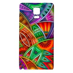 Happy Tribe Samsung Note 4 Hardshell Back Case by KirstenStar