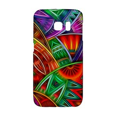 Happy Tribe Samsung Galaxy S6 Edge Hardshell Case by KirstenStar
