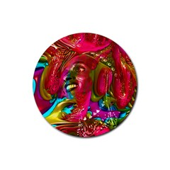 Music Festival Drink Coaster (round) by icarusismartdesigns