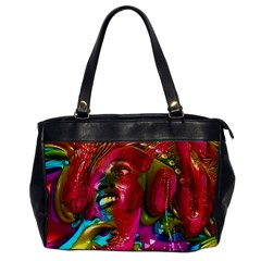 Music Festival Oversize Office Handbag (one Side) by icarusismartdesigns