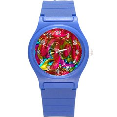 Music Festival Plastic Sport Watch (small) by icarusismartdesigns