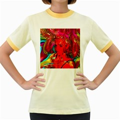 Mardi Gras Women s Ringer T Shirt (colored) by icarusismartdesigns