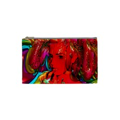 Mardi Gras Cosmetic Bag (small) by icarusismartdesigns