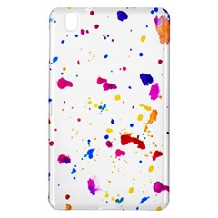 Multicolor Splatter Abstract Print Samsung Galaxy Tab Pro 8 4 Hardshell Case by dflcprints