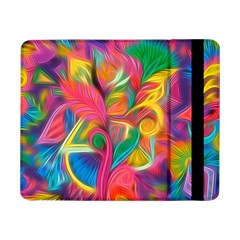 Colorful Floral Abstract Painting Samsung Galaxy Tab Pro 8 4  Flip Case by KirstenStar