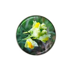 Linaria Flower Golf Ball Marker 10 Pack (for Hat Clip) by ansteybeta