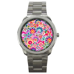 Eden s Garden Sport Metal Watch by KirstenStar