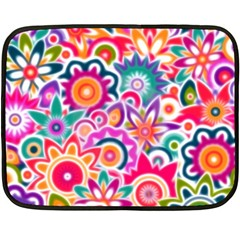 Eden s Garden Mini Fleece Blanket (two Sided) by KirstenStar