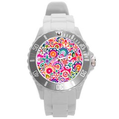 Eden s Garden Plastic Sport Watch (large) by KirstenStar