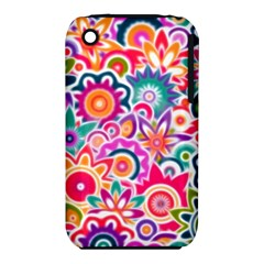 Eden s Garden Apple Iphone 3g/3gs Hardshell Case (pc+silicone) by KirstenStar