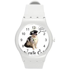Pi Rate Cat Plastic Sport Watch (medium) by brainchilddesigns