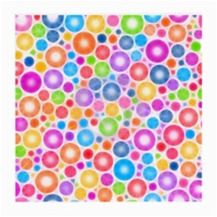 Candy Color s Circles Glasses Cloth (medium, Two Sided) by KirstenStar