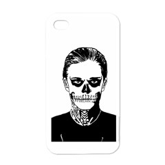 Tatezazzle Apple Iphone 4 Case (white) by kramcox