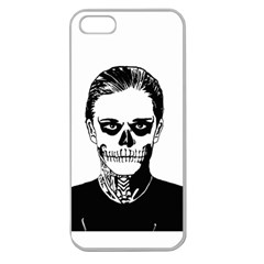 Tatezazzle Apple Seamless Iphone 5 Case (clear) by kramcox