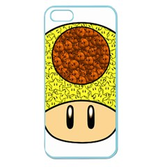 Really Mega Mushroom Apple Seamless Iphone 5 Case (color) by kramcox