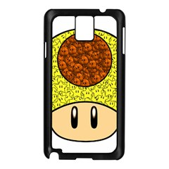 Really Mega Mushroom Samsung Galaxy Note 3 N9005 Case (black) by kramcox