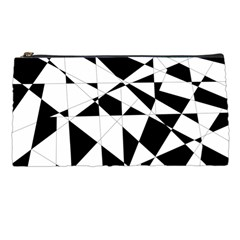 Shattered Life In Black & White Pencil Case by StuffOrSomething