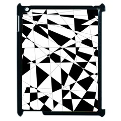Shattered Life In Black & White Apple Ipad 2 Case (black) by StuffOrSomething