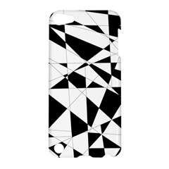 Shattered Life In Black & White Apple Ipod Touch 5 Hardshell Case by StuffOrSomething