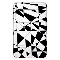 Shattered Life In Black & White Samsung Galaxy Tab 3 (8 ) T3100 Hardshell Case  by StuffOrSomething