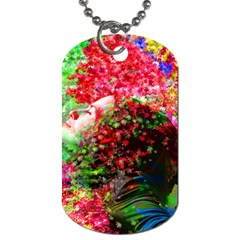 Summer Time Dog Tag (two Sided)  by icarusismartdesigns