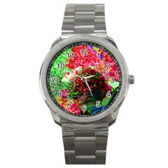 Summer Time Sport Metal Watch by icarusismartdesigns